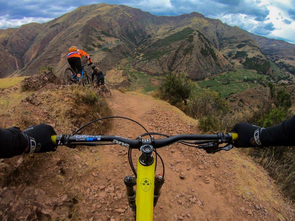 Mountain biking cusco peru