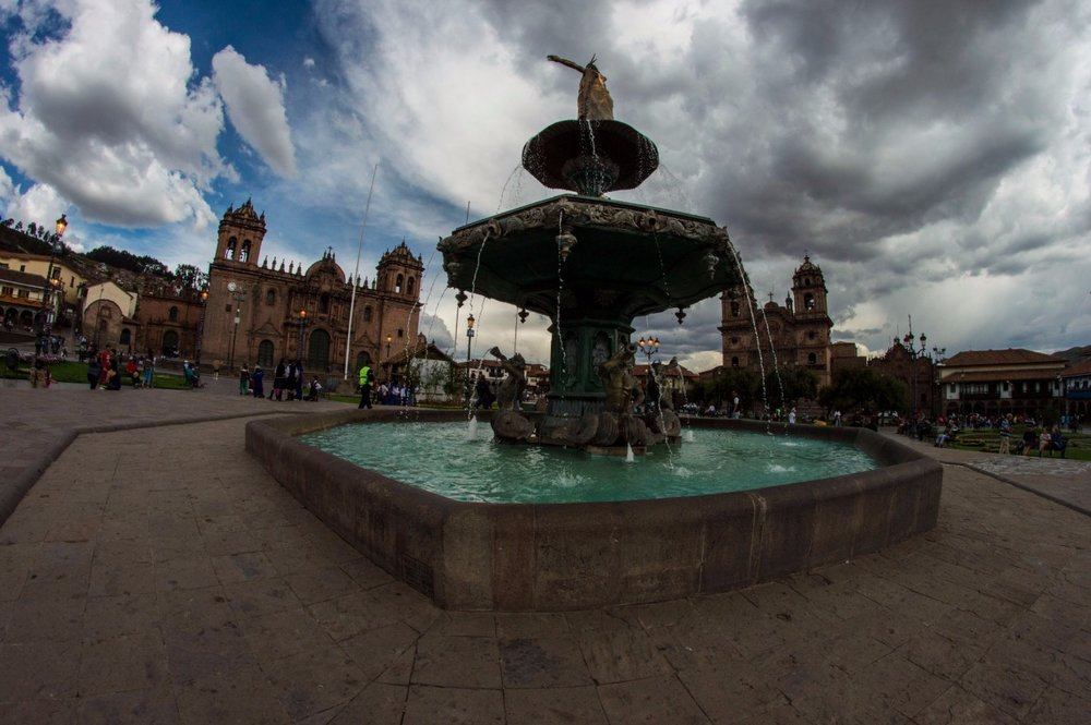 Cusco Plaza de Armas Photo:  Tramp-N-Trekker
