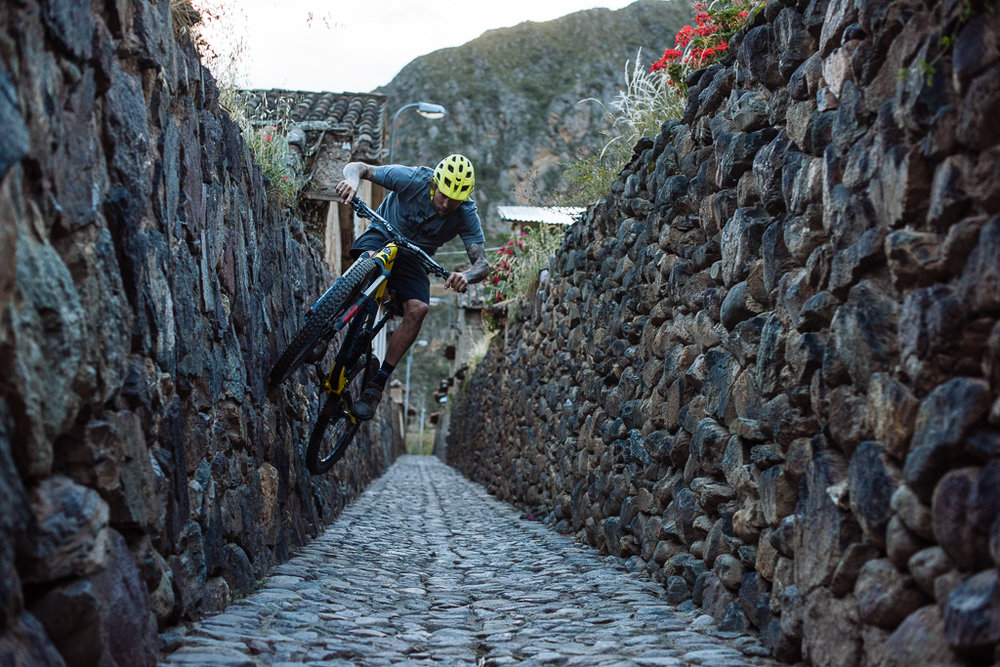 Geoff Gulevich riding the Ollanta Streets
