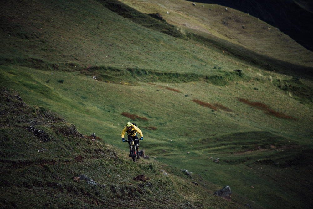 Geoff Gulevich on Patacancha Enduro MTB trail