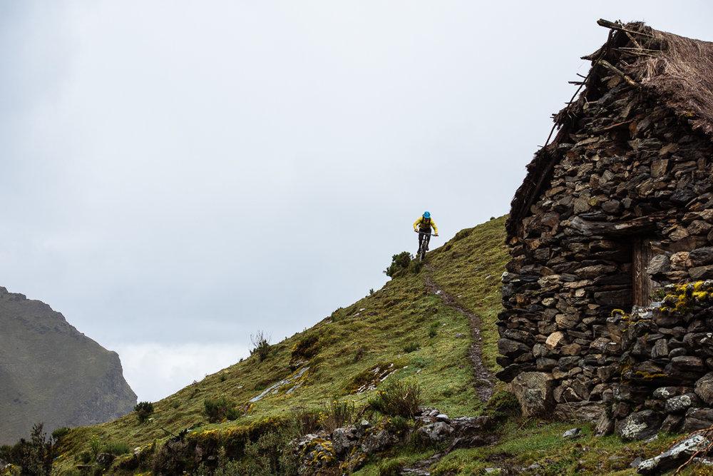 Inca Avalanche DH race course Peru