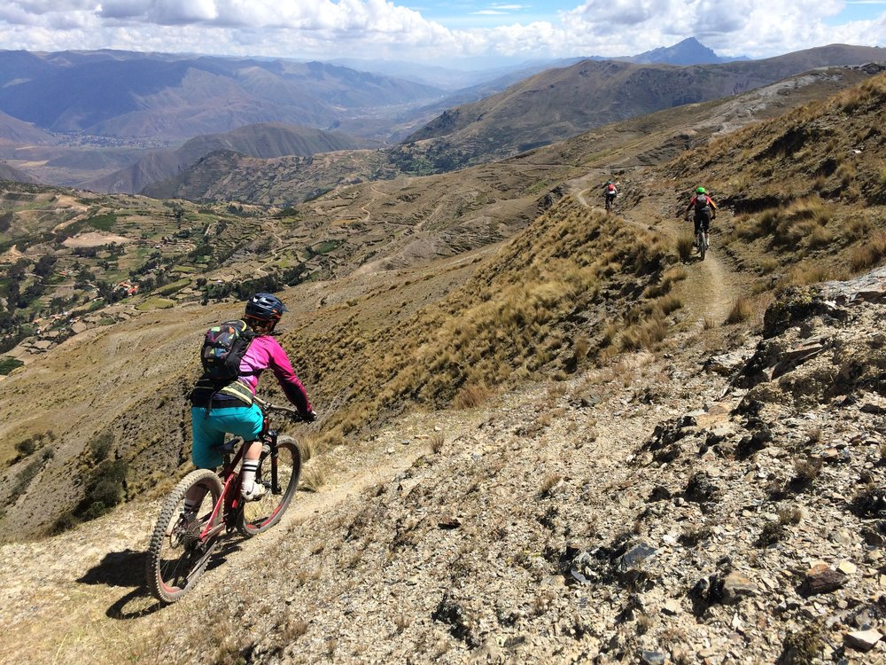 Radar Mountain bike tours in cusco