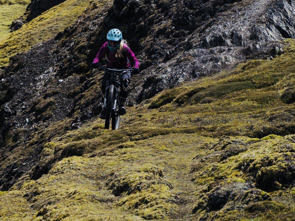 MTB trails in Cusco Peru