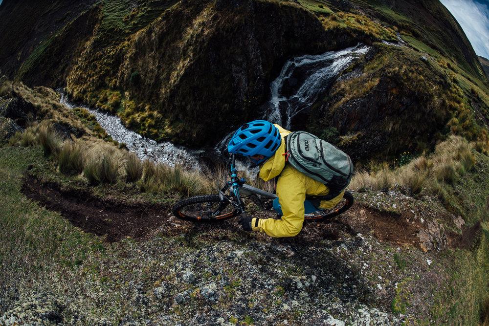 Geoff Gulevich on the Patacancha Enduro Trail. Shot by  Margus Riga