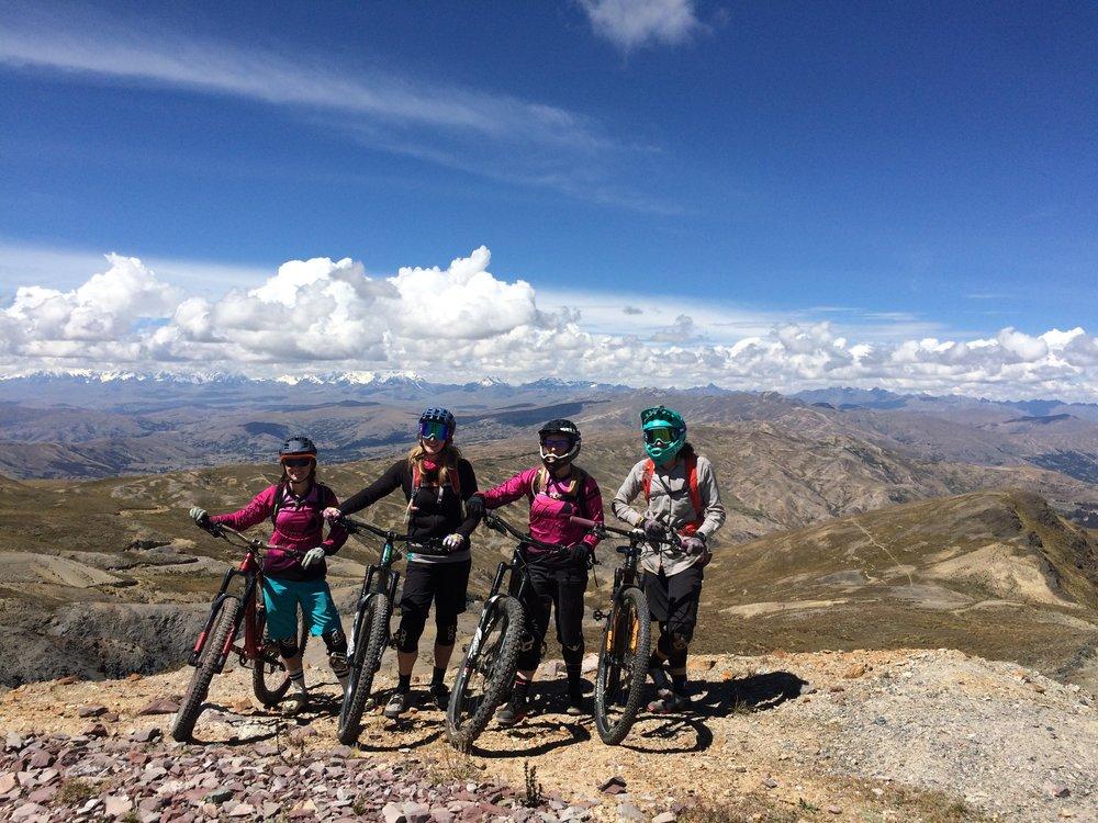 Radar Trail head at 14,700 ft with 2x USA XC collegiate national champ  Emily Schaldach