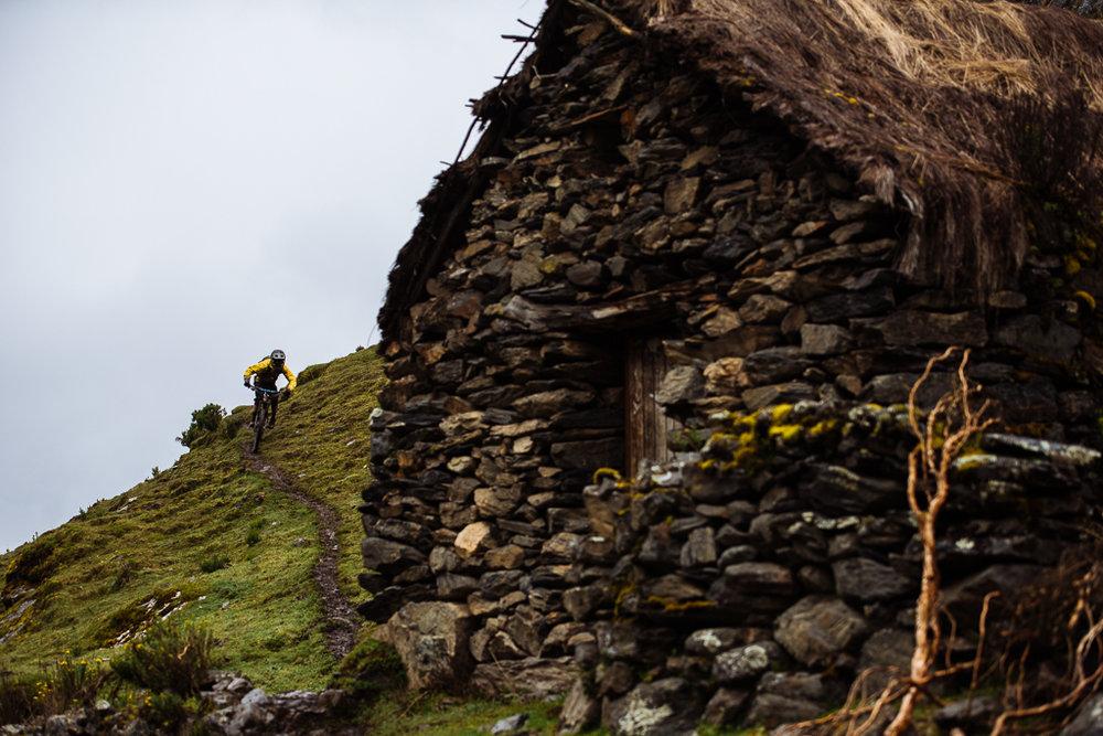 Inca Avalanche. Photo:  Margus Riga