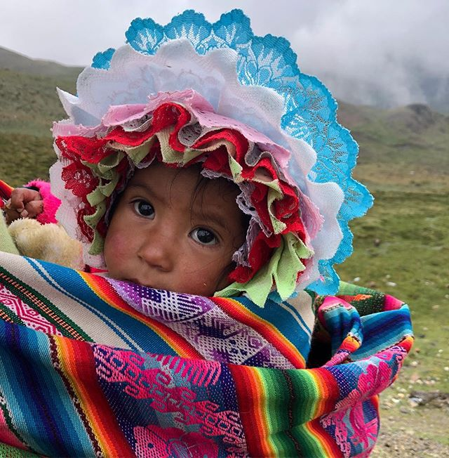 Peru is infused with culture at every turn. The women of the high Andes are so beautifully dressed and bring so much color to our lives. #colormehappy