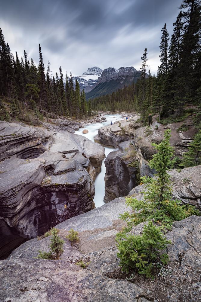 Mistaya Canyon - Banff National Park, Alberta, Canada