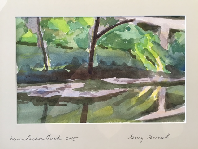 Wissahickon Creek series.