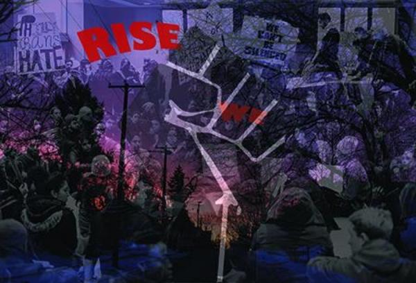 """""""WE RISE"""" by Eddie Einbender-Luks & Amanda Booth"""
