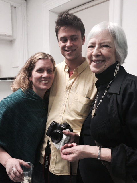 Amanda Booth, Eddie Einbender-Luks and Deborah Curtiss.  (L to R)