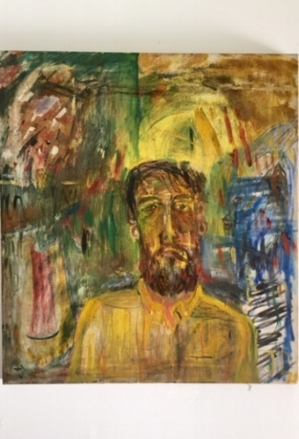 Self Portrait   1975, oil on canvas
