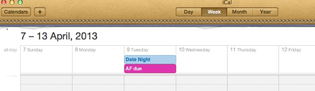 AF-Calendar