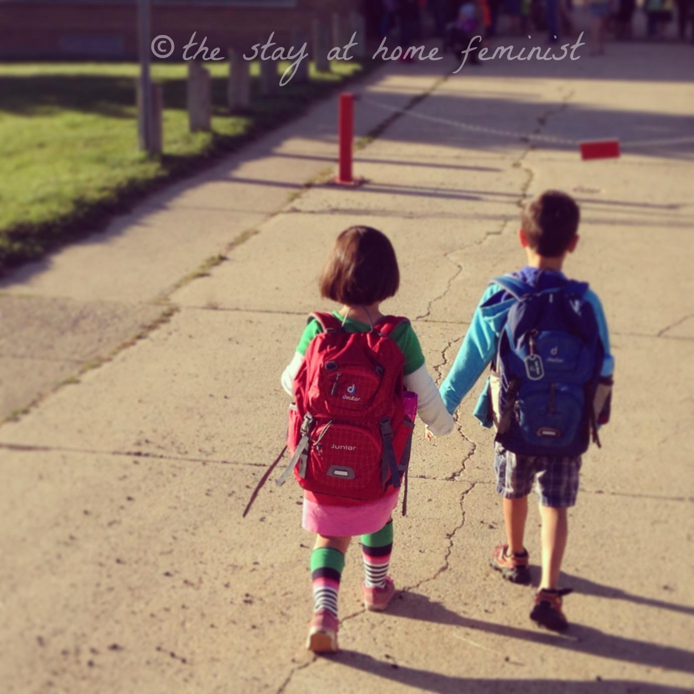 School siblings