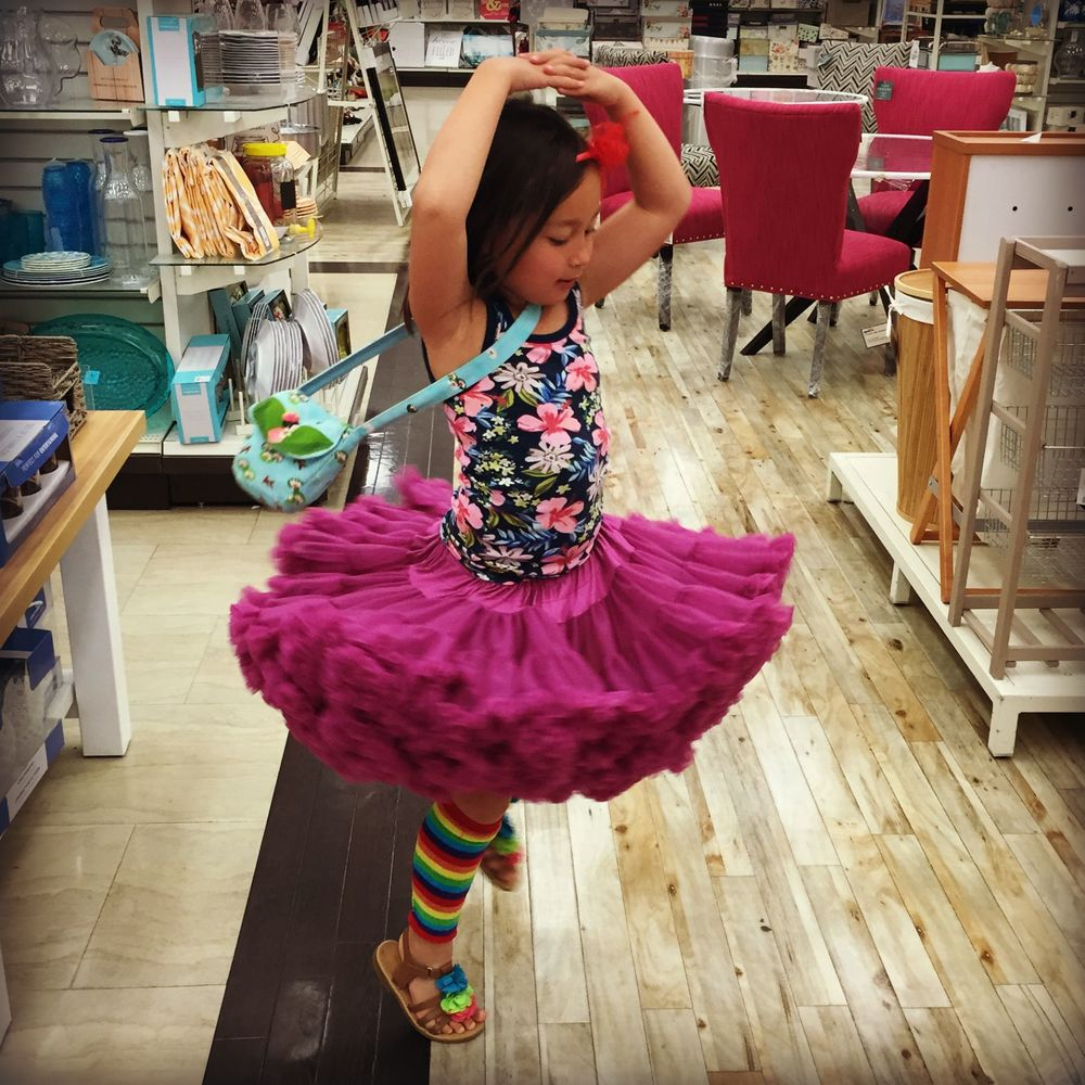 """And though she be but little, she is fierce and totally rockin' that frilly tutu in the middle of the store LIKE A BOSS!""  ~ William Shakespeare"