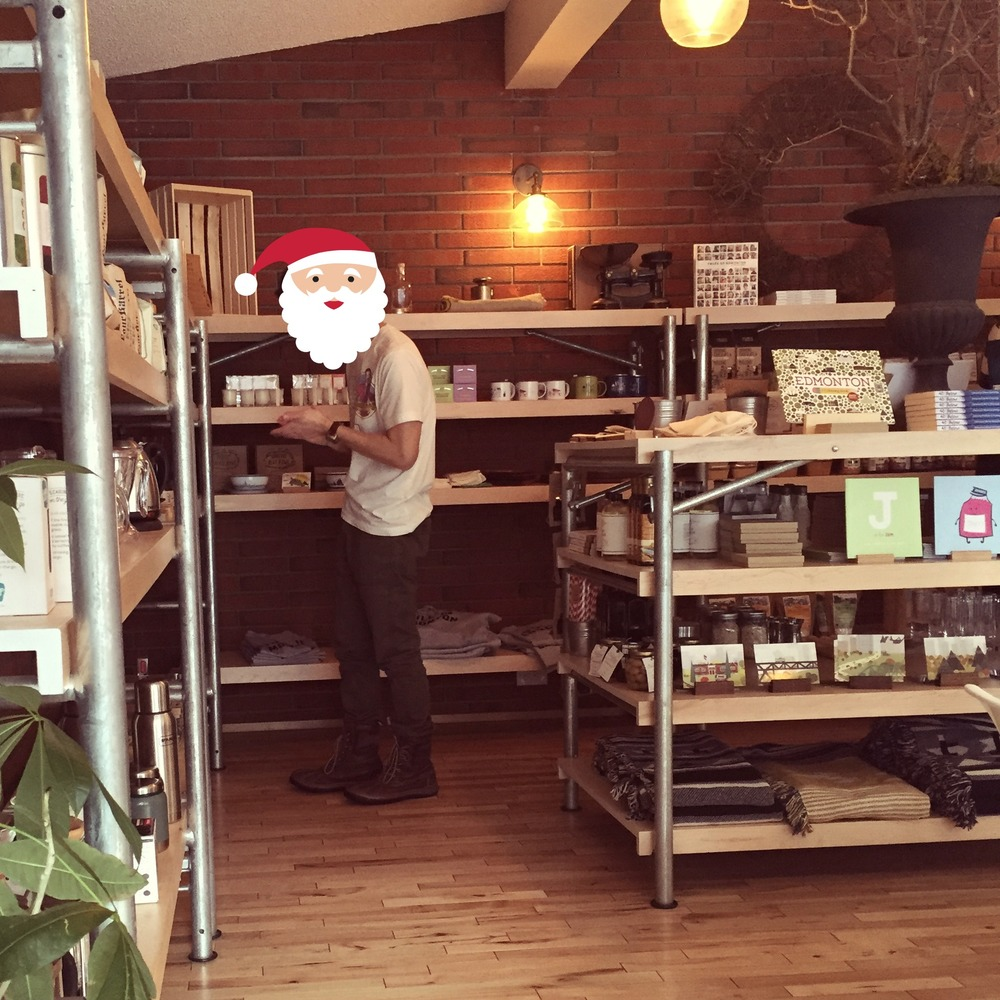 Santa shops HERE!