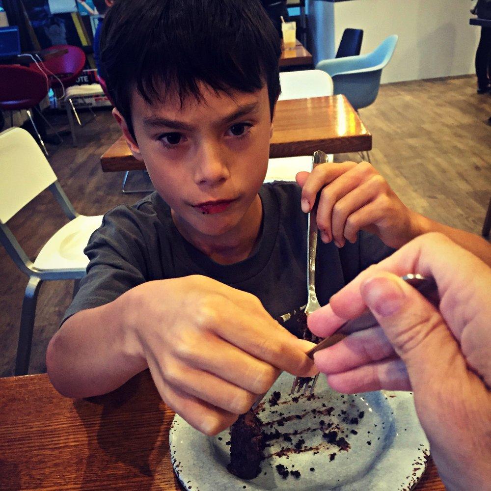 No cake for you Mom!