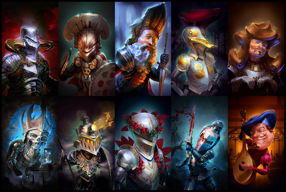 "Character Portraits Set#1 — ""Realm of Empires"""