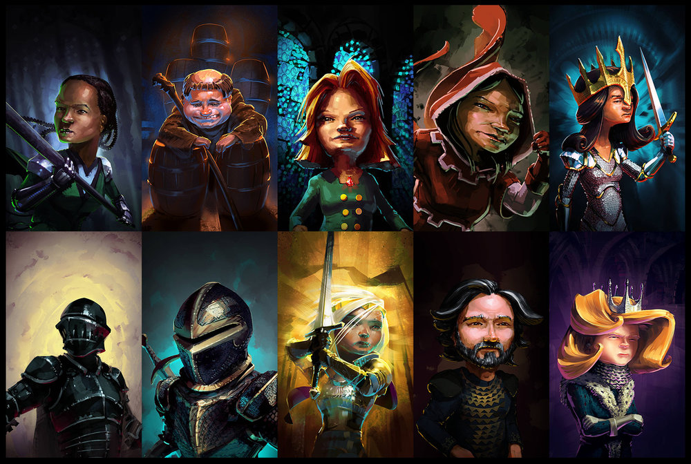 "Character Portraits Set#3 — ""Realm of Empires"""