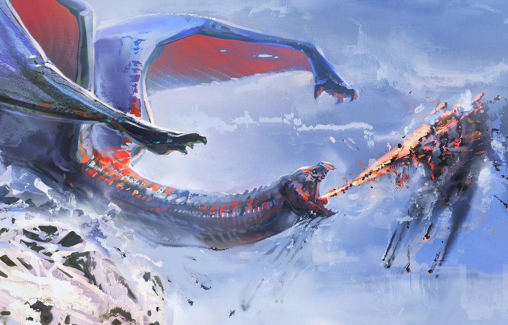 Christmas-Dragon-Digital-Painting-Eric-Elwell-Art-02.jpg