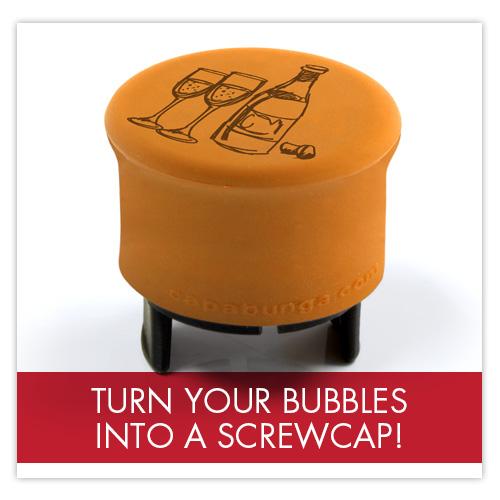 CapaBubbles -turn your bubbles into a screwcap