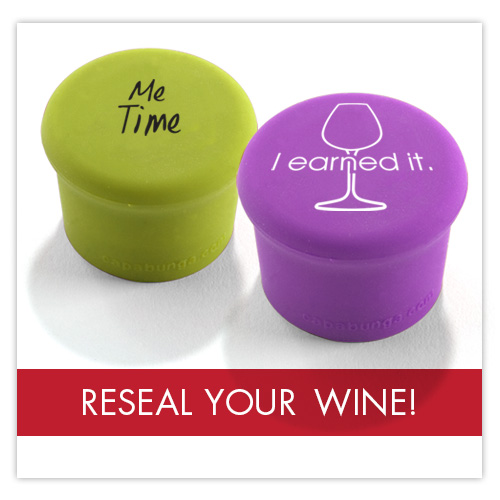 Reseal your wine
