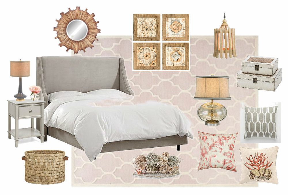 bedroom blush decor slp amazon com