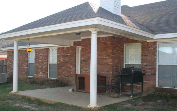 starter home back porch