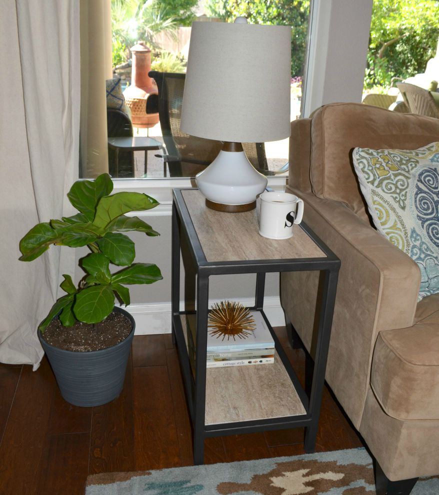 Side Table Front Angle