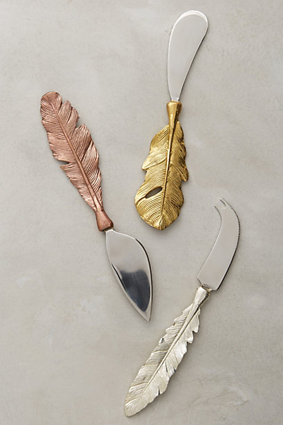 Anthropologie Cheese Knives - $36