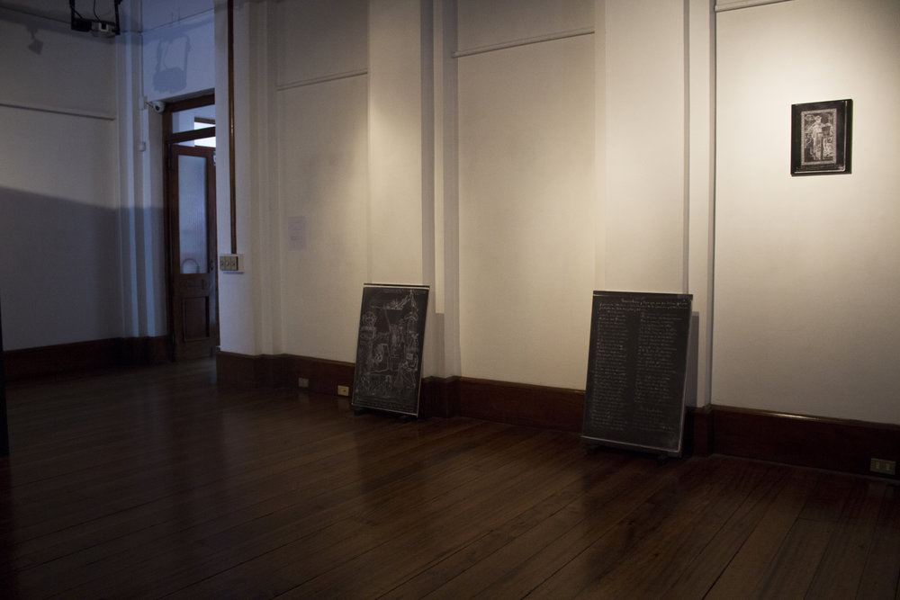 Installation View. Images by Verónica Alfaro. 2017