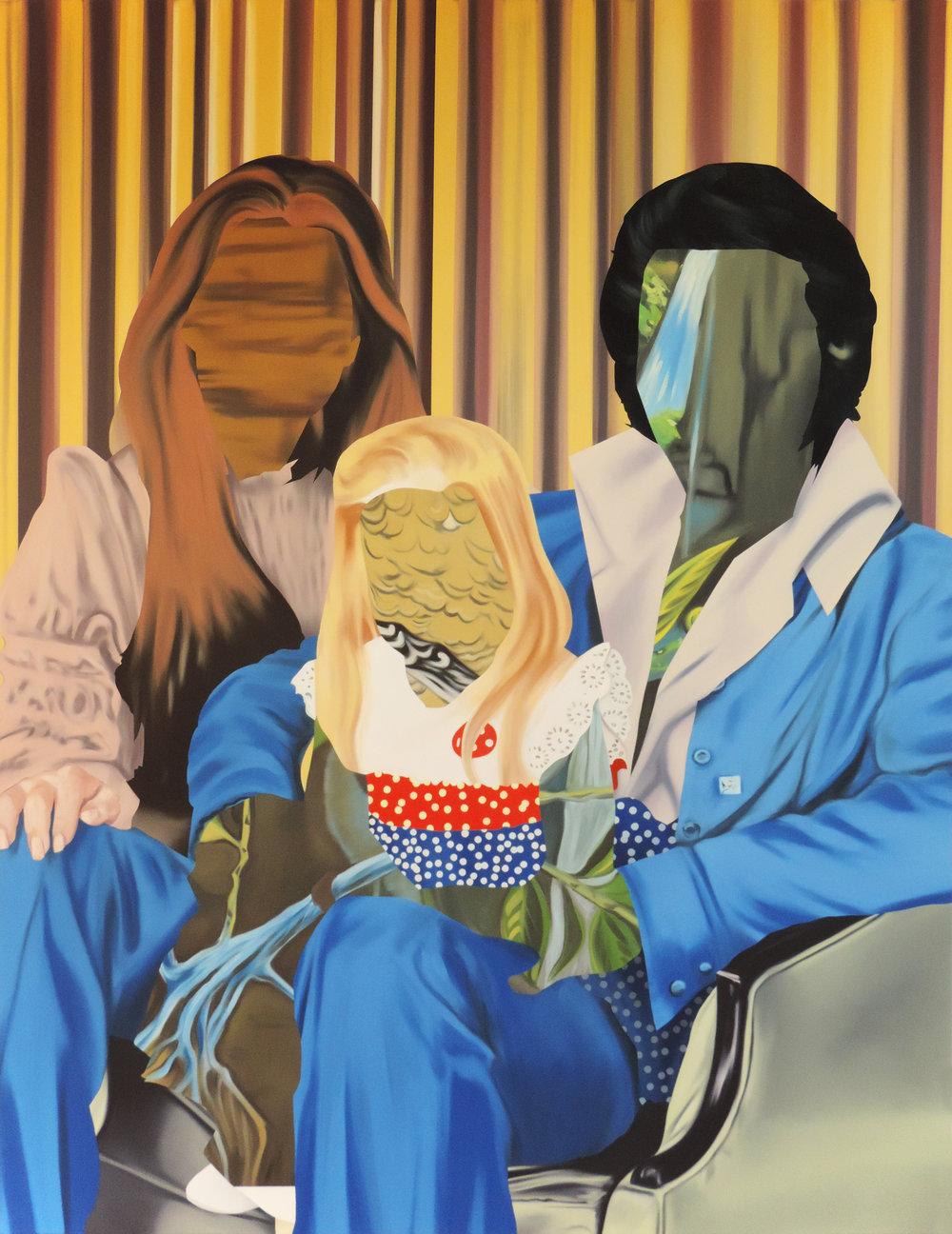 Replica I.  Oil on canvas, 198 x 152 cm. 2017