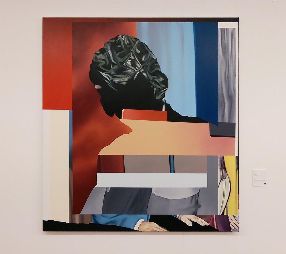 Untitled, Replica I, 167,6 x 152,4 cm 2018