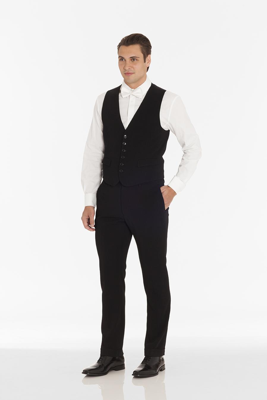 Vest 1211 Shirt 1000FC Pant 214 Bow Tie 1431