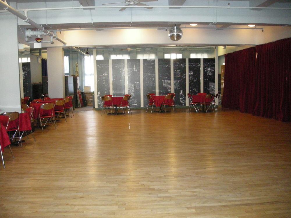 Dancing Classrooms Space - open floor