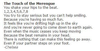Touch of Merengue.JPG