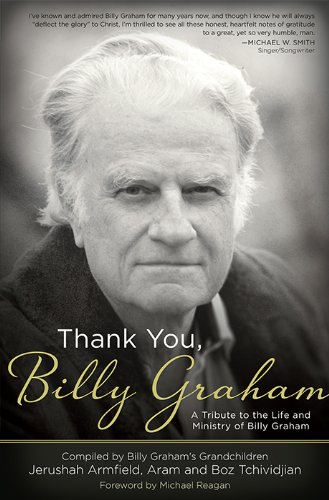 Cover of Thank You, Billy Graham via Amazon