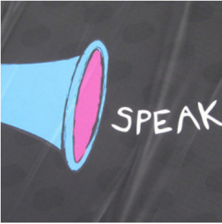 Speak up, make your voice heard - courtesy of Howard Lake via Flickr