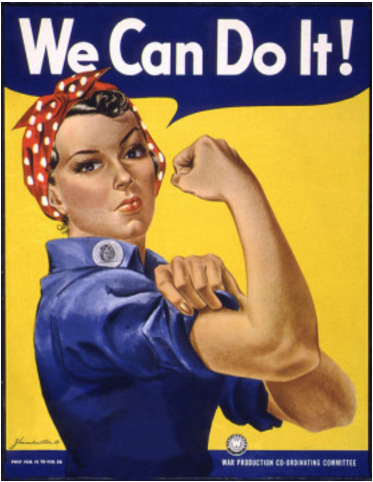 We Can Do It Poster - photo courtesy of DonkeyHotey via Flicker
