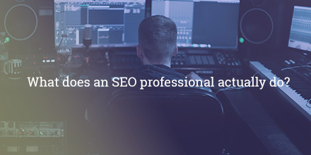 What Does a SEO Company Do?
