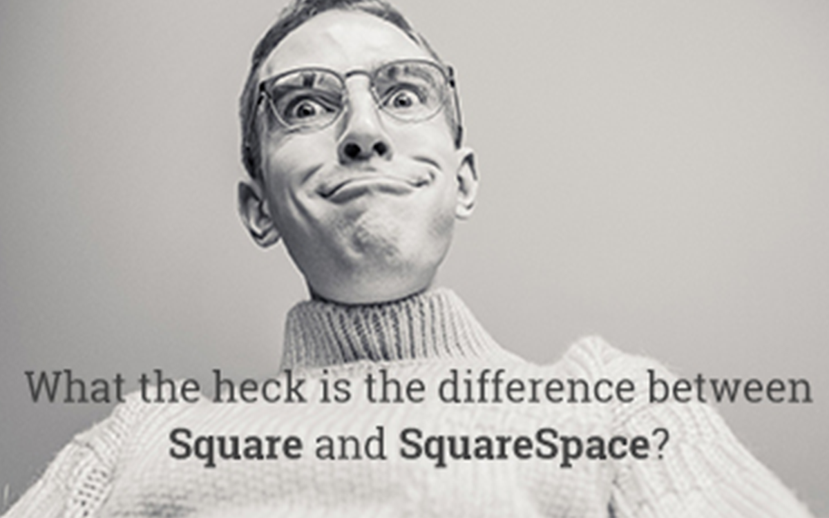 What's the difference between Square and SquareSpace?