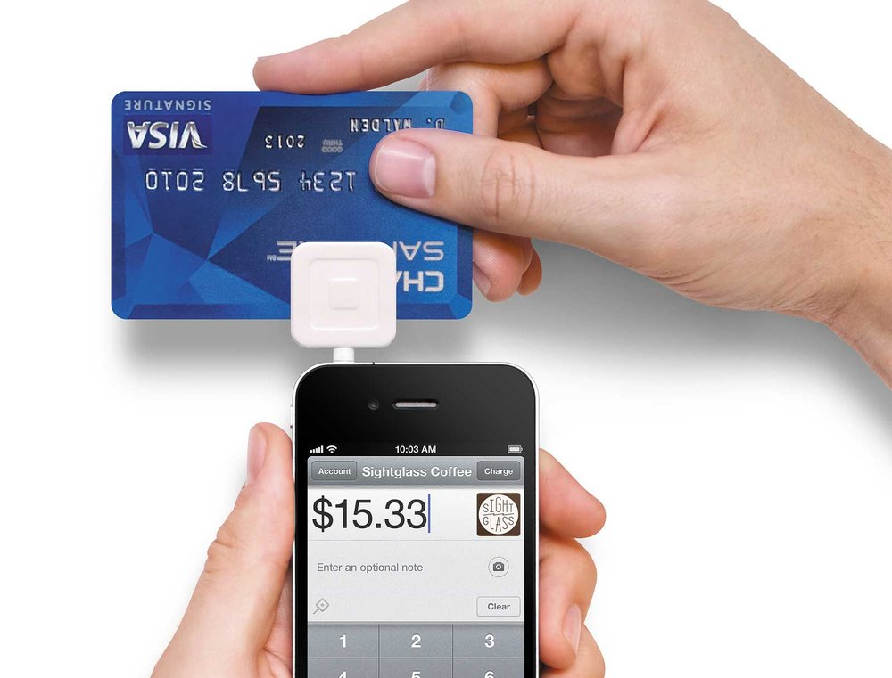 How does square reader work?