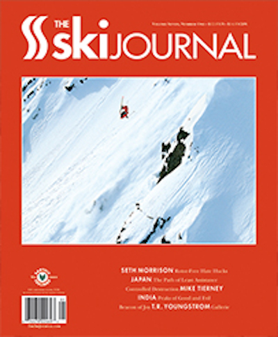 Volume 7.1, Summer  2013  MIke Tierney: Feature profile of Jackson skier and artist