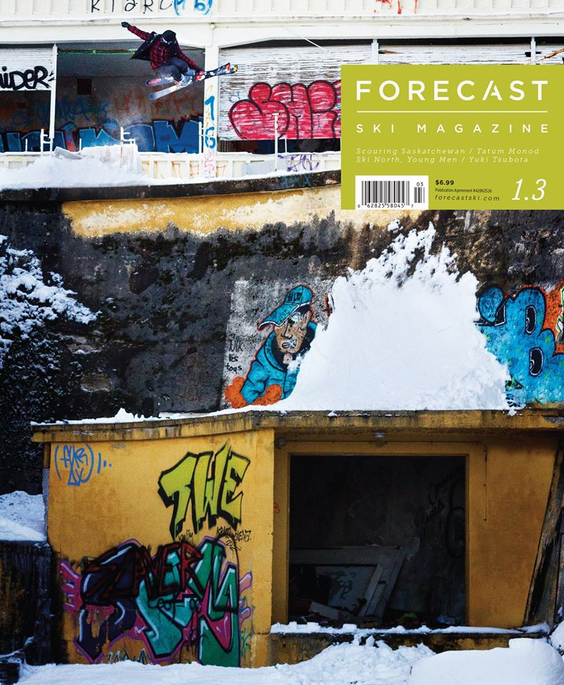 December 2015   Forecast Ski Magazine (Issue 3!)      An interview with the refreshing, opinionated barrier breaking big mountain phenom and skier Tatum Monod