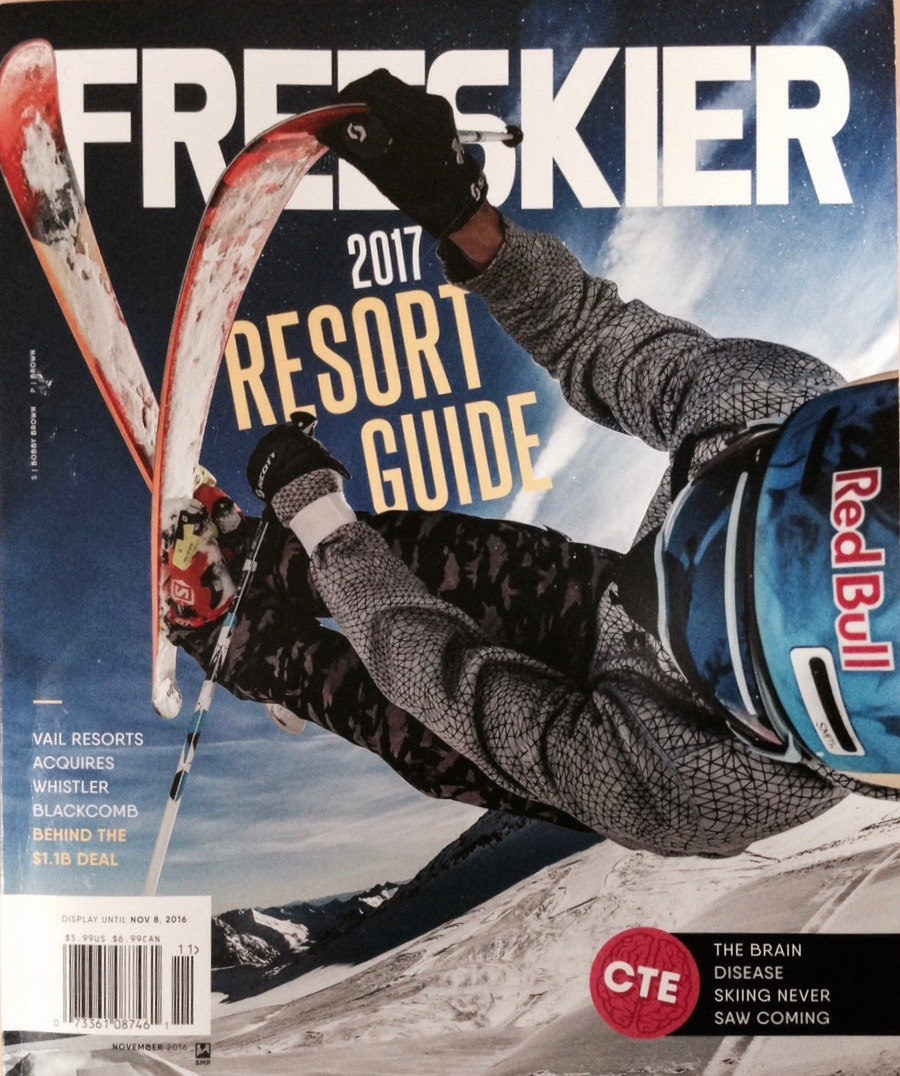 Freeskier Magazine 2017 Resort Guide   Feature profile of skier Owen Leeper and his home mountain of Jackson Hole, WY