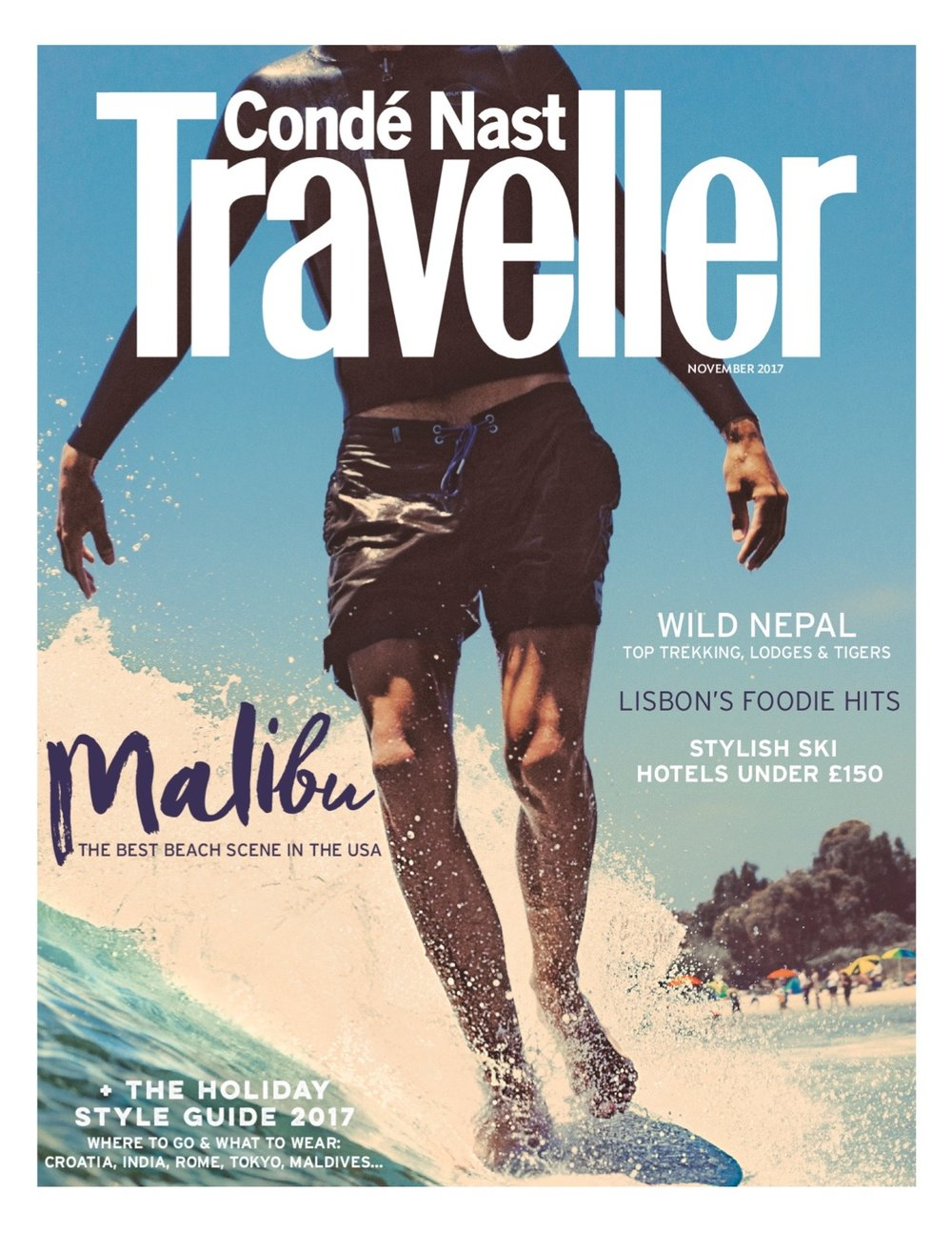 Conde Nast Traveller, November 2017     A highlight of the  Anvil , a small old motel in Jackson, WYO, that renovated instead of expanding, to maintain a low-impact operation, cultural authenticity and community connections and in doing so created one of the best new, most stylish ski vacation crash pads.