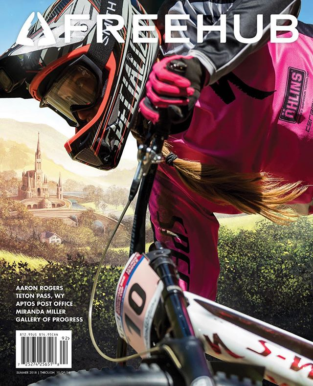 I'm pretty stoked to see my first feature in Freehub Magazine (@freehubmag) on a subject near and dear...the Teton Pass bike community. And a cover featuring the badass @mirandamillermtb pretty fun too... #freehubmag @tetonfreedomriders @friendsofpathways #bridgertetonnationalforest #publiclands