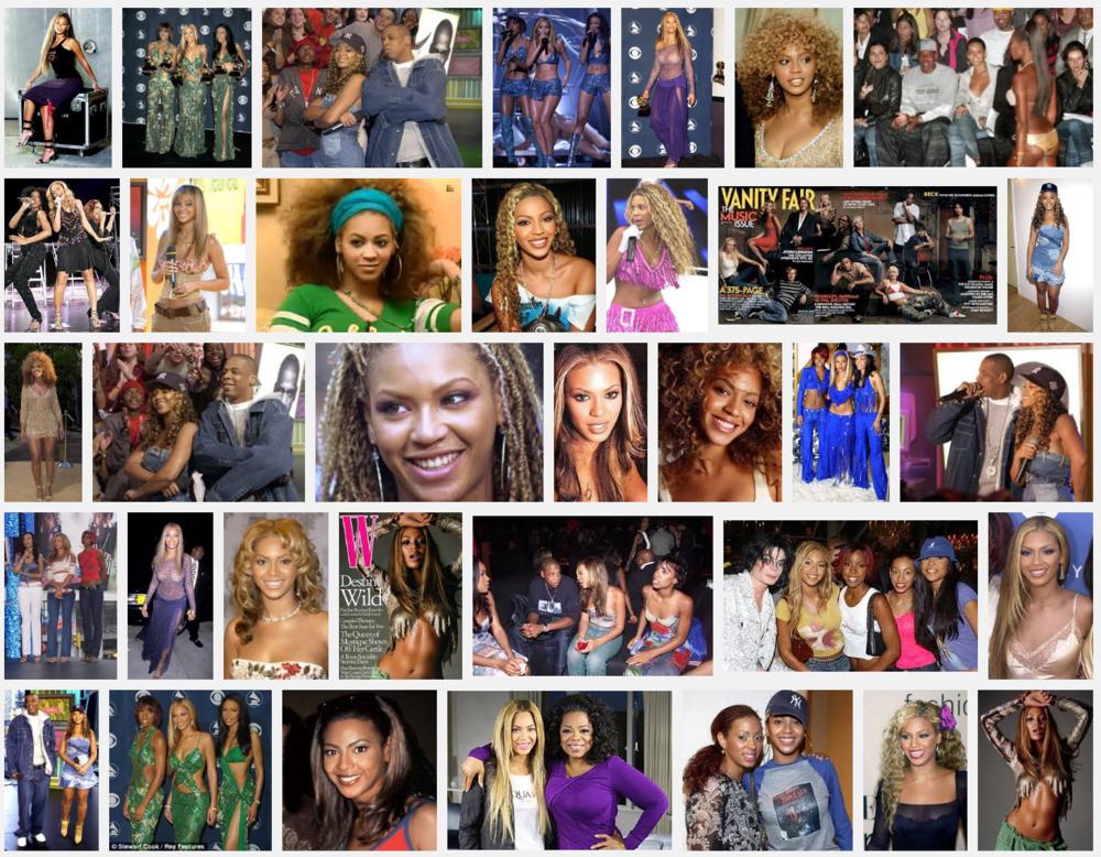 """""""Beyonce 2001 .. 2002"""""""
