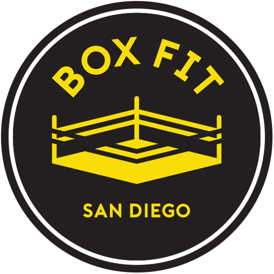 Logo Design for Box Fit San Diego Boxing gym
