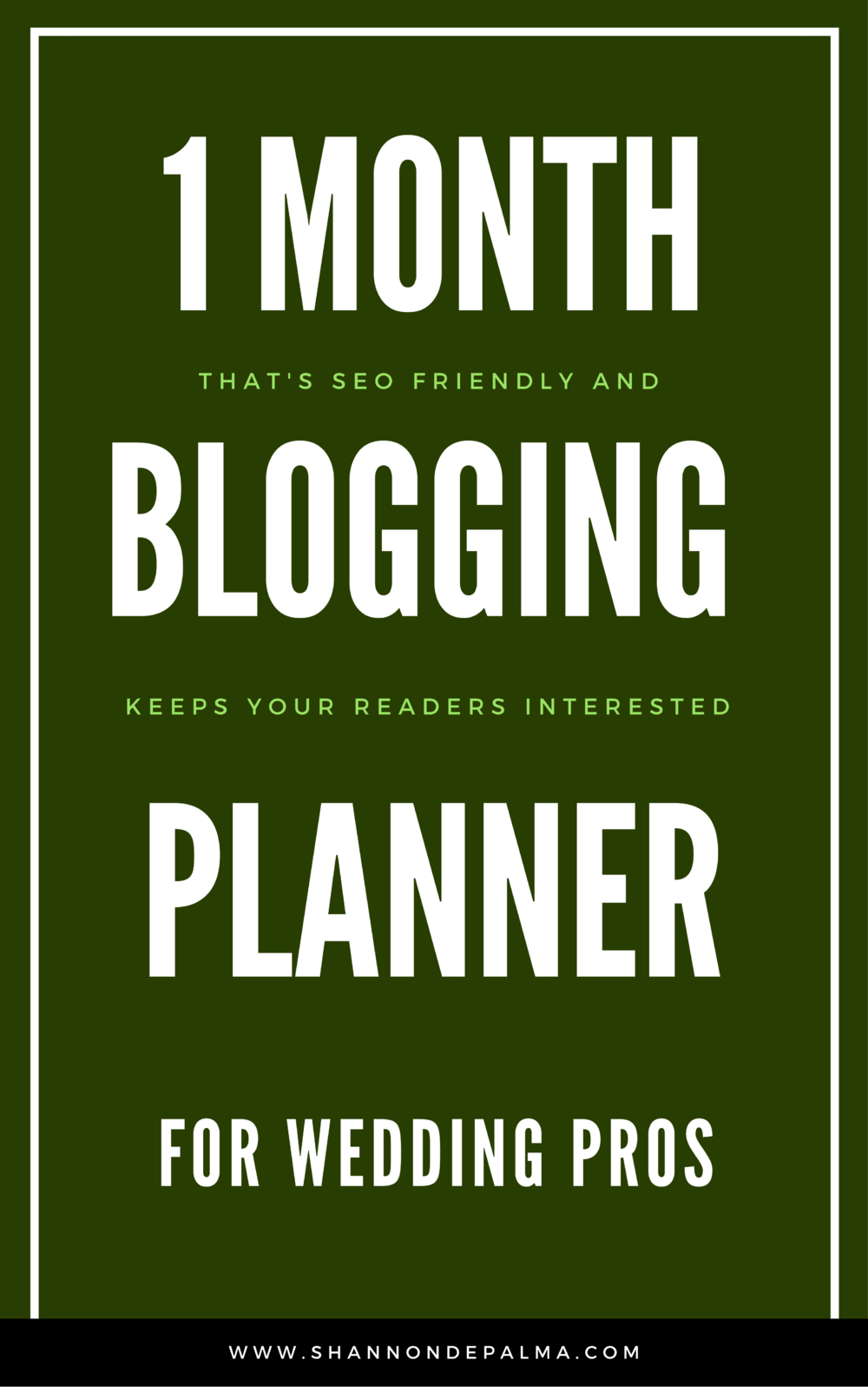 Use this planner with the Blogging webinar above